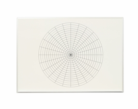 Small Magnetic Polar Coordinate Whiteboard