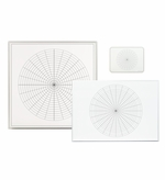 Polar Grid Coordinate Dry Erase Boards