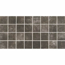 American Olean Bevalo Charcoal 3 x 3 Mosaic