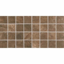 American Olean Bevalo Earth 3 x 3 Mosaic