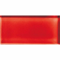 """American Olean Color Appeal Cherry 4"""" X 12"""""""