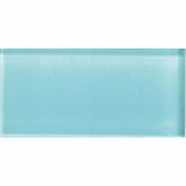 """American Olean Color Appeal Fountain Blue 3"""" x 6"""""""
