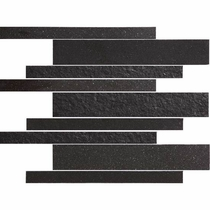 American Olean Decorum Distinct Black 12 x 12 Mosaic