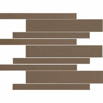 "American Olean Decorum Formal Brown 12"" x 12"" Mosaic"