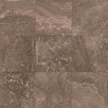 "American Olean Laurel Heights Brown Pinnacle Porcelain Tile 18"" x 18"""