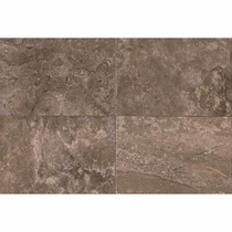 "American Olean Laurel Heights Brown Pinnacle Wall Tile 12"" x 18"""
