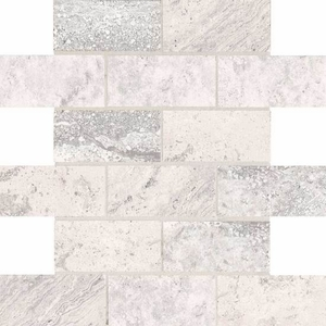 American Olean Laurel Heights Gray Summit Brick Joint Mosaic
