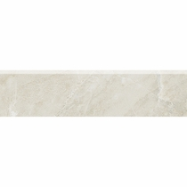 "American Olean Mirasol Silver Marble 3"" x 10"" Wall Bullnose"