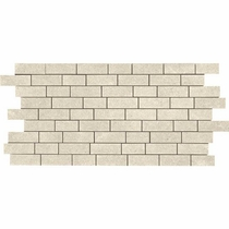 "American Olean Relevance Contemporary Cream 12"" x 24"" Mosaic"