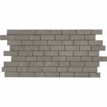 "American Olean Relevance Essential Charcoal 12"" x 24"" Mosaic"