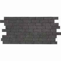 "American Olean Relevance Exact Black 12"" x 24"" Mosaic"