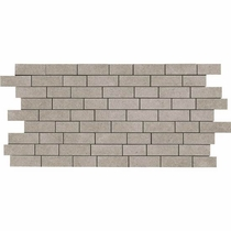 "American Olean Relevance Germane Gray 12"" x 24"" Mosaic"