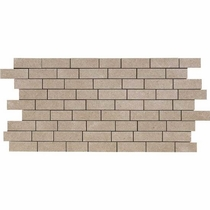 "American Olean Relevance Timely Beige 12"" x 24"" Mosaic"