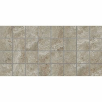 American Olean Stone Claire Ashen 3 x 3 Mosaic