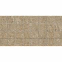 American Olean Stone Claire Russet 3 x 3 Mosaic