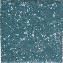 "American Olean Unglazed Colorbody Mosaics Bimini Blue 1"" x 1"" Hexagon"