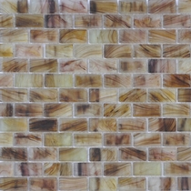 """American Olean Visionaire Evening Shadow 5/8"""" x 1 1/4"""" Mosaic Frosted"""