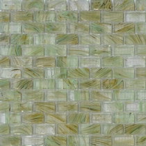 """American Olean Visionaire Meadow Breeze 5/8"""" x 1 1/4"""" Mosaic Glossy"""