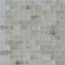 """American Olean Visionaire Smokey Ballad 5/8"""" x 1 1/4"""" Mosaic Frosted"""