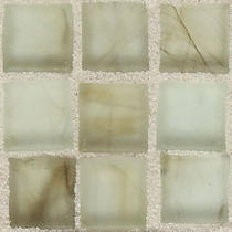 """American Olean Visionaire Smokey Ballad 5/8"""" x 5/8"""" Mosaic Frosted"""