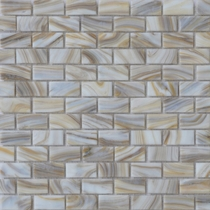 """American Olean Visionaire Soothing Mist 5/8"""" x 1 1/4"""" Mosaic Frosted"""