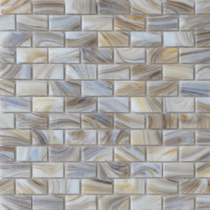 """American Olean Visionaire Soothing Mist 5/8"""" x 1 1/4"""" Mosaic Glossy"""