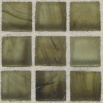 """American Olean Visionaire Summer Storm 5/8"""" x 5/8"""" Mosaic Frosted"""