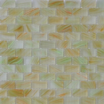 """American Olean Visionaire Tranquil Spa 5/8"""" x 1 1/4"""" Mosaic Frosted"""