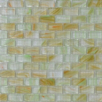 """American Olean Visionaire Tranquil Spa 5/8"""" x 1 1/4"""" Mosaic Glossy"""