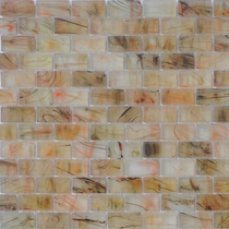 """American Olean Visionaire Warm Sunset 5/8"""" x 1 1/4"""" Mosaic Frosted"""