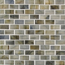 """American Olean Visionaire Whispering Stream 5/8"""" x 1 1/4"""" Mosaic Frosted"""