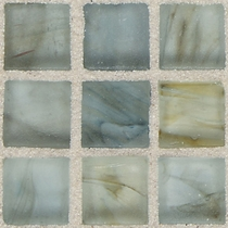 """American Olean Visionaire Whispering Stream 5/8"""" x 5/8"""" Mosaic Frosted"""