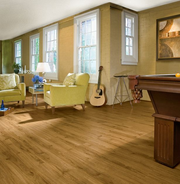 Industrial Flooring That Looks Like Wood: Armstrong Vinyl Natural Personality Plank