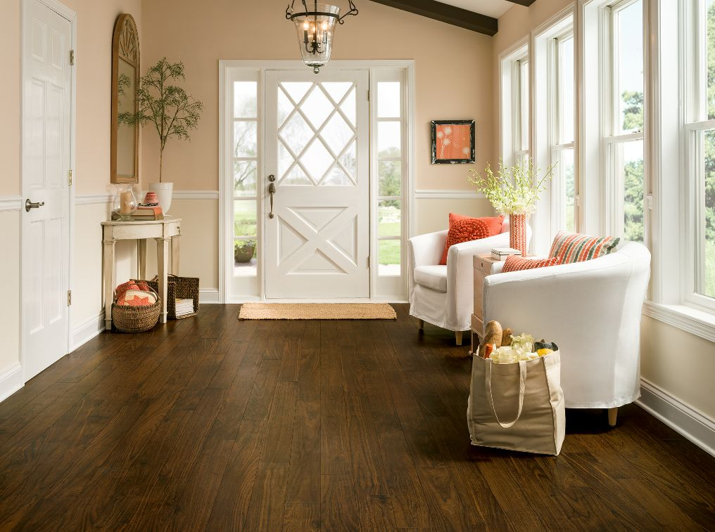 Armstrong Vivero Walnut Cove Antique Brown Integrilock