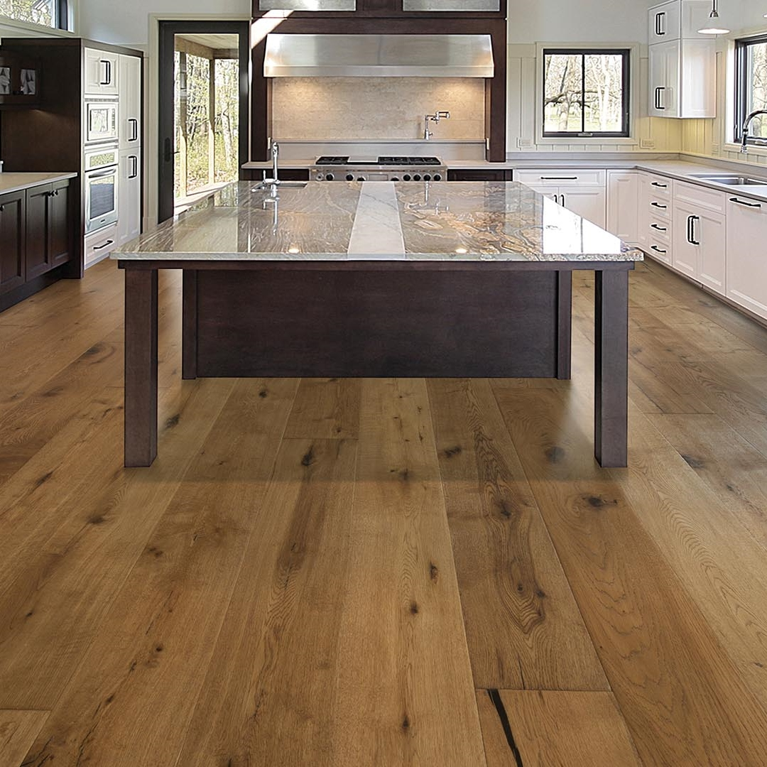 Oil Finished Natural Hardwood Flooring