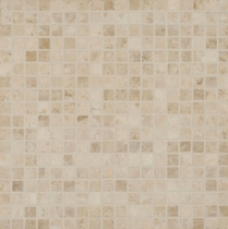 "Bedrosians Marble Tile Cappuccino Mosaic Honed 2"" x 2"""