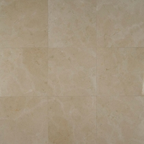 "Bedrosians Marble Tile Crema Marfil Select 18"" x 18"""