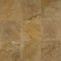 "Bedrosians Travertine Tile Crema Viejo 18"" x 18"""