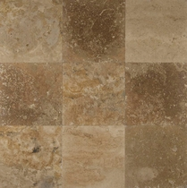 "Bedrosians Travertine Tile Desert Rustic 12"" x 12"""