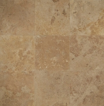 "Bedrosians Travertine Tile Mocha Jura Beige 18"" x 18"""