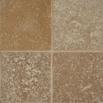 "Bedrosians Travertine Tile Noce 18"" x 18"""