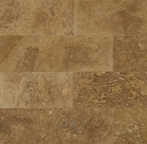 "Bedrosians Travertine Tile Sedona Bronze 18"" x 18"""