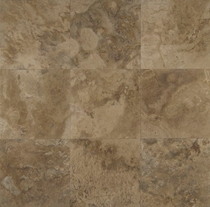 "Bedrosians Travertine Tile Storm 18"" x 18"""