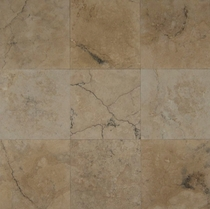 "Bedrosians Travertine Tile Venato 18"" x 18"""