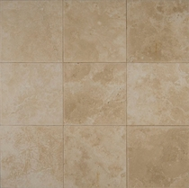 "Bedrosians Travertine Tile Veracruz Sand 12"" x 12"""