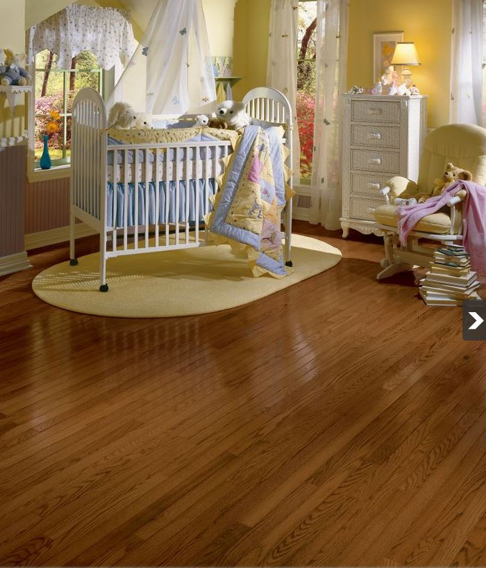 Manchester Cherry Flooring: Bruce Manchester Strip Red Oak Saddle Solid Hardwood Flooring