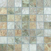 """Cerdomus Forge Mixed Color 2"""" x  2"""" Mosaic"""