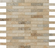 "Cerdomus Rok Mixed Color 1"" x 3"" Mosaic"
