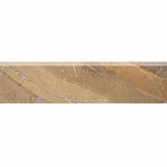 "Daltile Ayers Rock Bronzed Beacon 3"" x 13"" Bullnose"