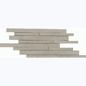 "Daltile City View 9"" x 18"" Skyline Gray Brick Joint"